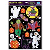 Halloween Character Clings Party Accessory (1 count) (12 Sh)