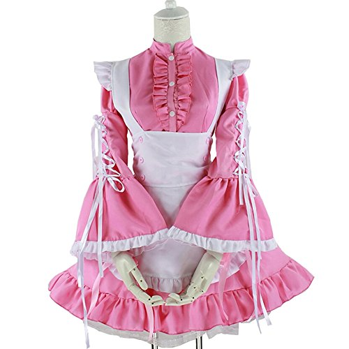 Japanese Sexy Gothic Vintage Lovely Lolita Maid Cosplay Costumes