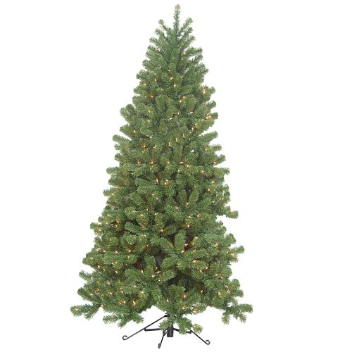 Prelit Art Christmas Trees - Barcana 4-Foot 100 Clear Christmas Light Ready Trim Corner Right Side Up Christmas Tree