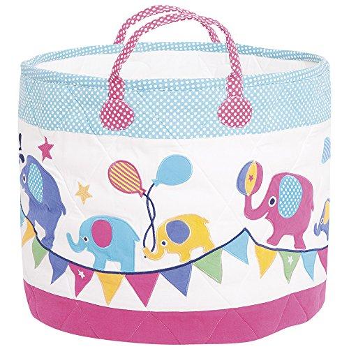 JoJo Maman Bebe Storage Bucket, Elephant, Large