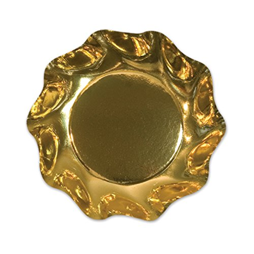 Metallic Gold Small Bowls   (10/Pkg)