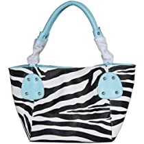 Fash Large Zebra Print Faux Leather Tote Handbag-women Hand Bag,casual Bag,girls College Bag,shopping Bag,gift for Her