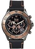 Ice-Watch Unisex - Armbanduhr Ice Vintage Analog Quarz Leder VT.MF.BKB.B.L.14