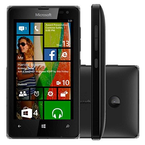 Microsoft Lumia 532 UNLOCKED RM-1032 Dual Sim Windows Phone 2G GSM 850/900/1800/1900MHZ, WCDMA 850/900/1900/2100MHZ (Black)