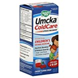 Nature's Way Umcka ColdCare, Children's, Cherry Flavor Syrup, 4 oz.