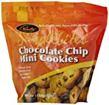 Pamelas Products Simplebites Chocolate Chip Mini Cookies, 7-Ounce Pouches (Pack of 6)