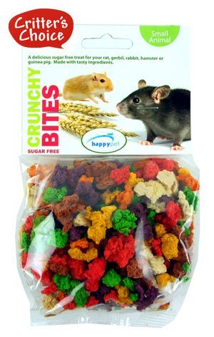 Critters Choice Crunchy Bites For Small Pets Sugar Free 100G [45718]