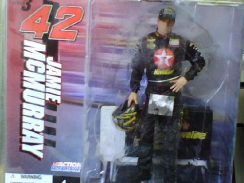 Jamie McMurray 6-inch figure from Nascar Series 3 by McFarlane
