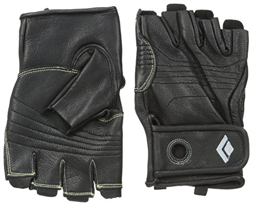 Black Diamond Stone Climbing Gloves, Black, Medium