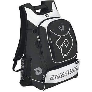 DeMarini Sports Backpack Equipment Gear Bag for All Sports: Baseball Softball,... by DeMarini