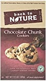 Back To Nature Cookies, Chocolate Chunk, 9.5 Ounce