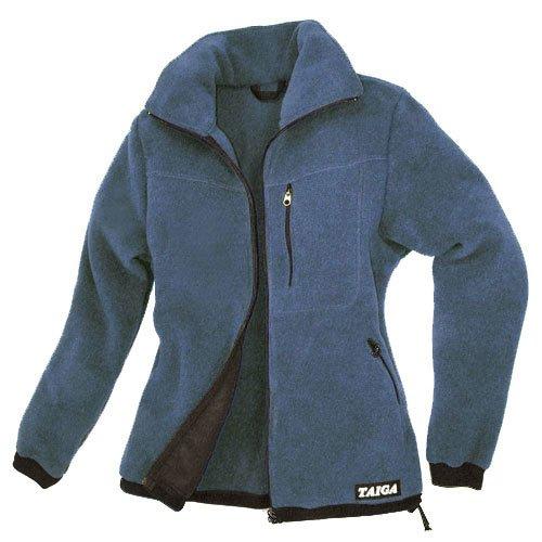 TAIGA Fleece Jacket-300 - Women's Polartec®-300 Fleece Jacket, Denim, MADE IN CANADA