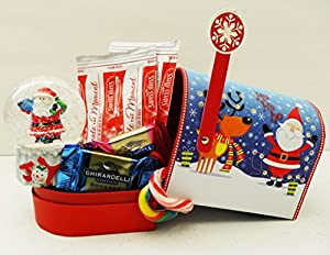 Unlocking Greatness You Are LOVED Christmas Holiday Gift Baskets (Snow Globe Mailbox)