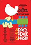 Woodstock Red Tin Sign