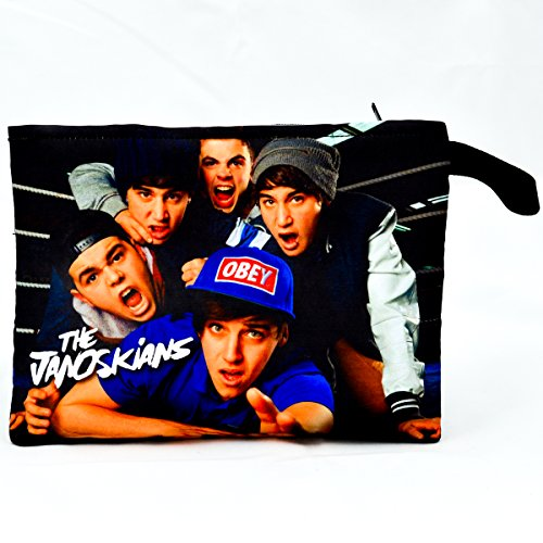 The Janoskians Jai Brooks Musician Bag Pouch 33