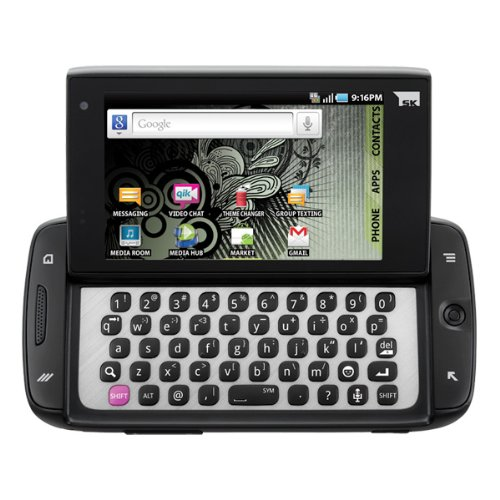 Samsung SGH T839 Sidekick 4g T-mobile Black Android Wifi GPS Cell Phone