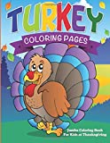 Turkey Coloring Pages: Jumbo Coloring Book For Kids at Thanksgiving