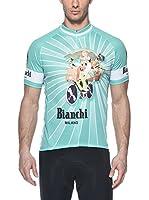 Bianchi Milano Maillot Ciclismo Niaoka1 (Verde)