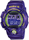 Casio Women's BG1005M-6 Baby-G Multi-Function Digital Purple Watch