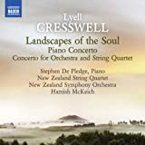 Cresswell: Piano Concerto | Landscapes Of The Soul [Stephen De Pledge, Hamish McKeich] [Naxos: 8573199]