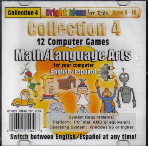 Collection 4 (12) Computer Games Math/Language (ages 6-10)