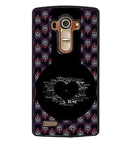 Fuson 2D Printed Love Designer back case cover for LG G4 - D4618