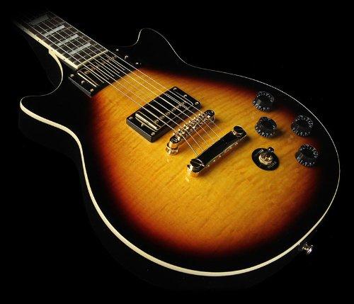 Epiphone Eggnvsgh3 Genesis Deluxe Pro Solid-Body Electric Guitar, Vintage Sunburst