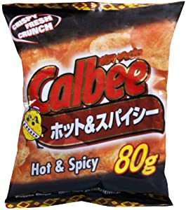 Calbee Potato Chips Hot & Spicy, 12 pk by Amazon-Health & Nutrition