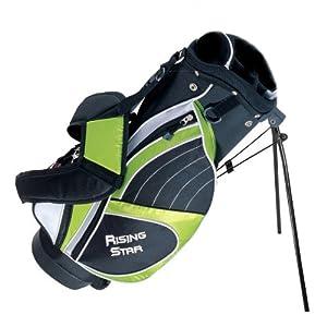 "Paragon Rising Star Junior Golf Stand Bag 28"" Green"