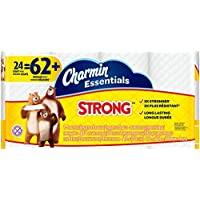 Charmin 96897 Essentials Strong Toilet Paper (24 Giant Rolls)