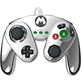 PDP Wired Fight Pad for Wii U - Metal Mario (Color: Metal Mario)