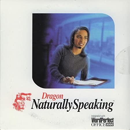 DRAGON NATURALLY SPEAKING INTEGRATED WITH WORDPERFECT OFFICE 2000 VOICE RECOGNITION PROFESSIONAL BUSINESS SOFTWARE