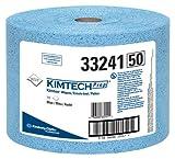 Kimberly-Clark Kimtech Prep 33241 Polypropylene Prep Disposable Jumbo Roll Wiper, 13-25/64