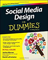 Social Media Design For Dummies Front Cover