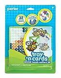 Perler Fused Bead Pattern Kit, Biggie Bead Tray n Cards