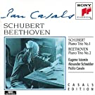Schubert: Piano Trio No. 1; Beethoven: Piano Trio No. 2