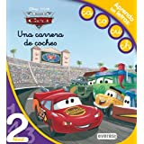 Cars. Una carrera de coches. Lectura Nivel 2: Aprendo las letras: ca, co, cu, ch. (Leo con Disney)