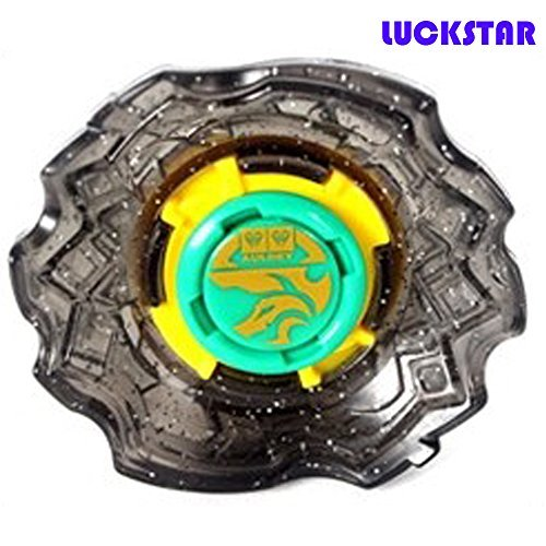 LUCKSTAR(TM) Latest Top Rapidity Spinning Battle Top Spin Toy for Kids Child Boys-Silver - 1
