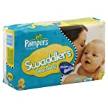 Pampers Diapers, Size 2 (12-18 lb), Sesame Beginnings, Jumbo 36 diapers