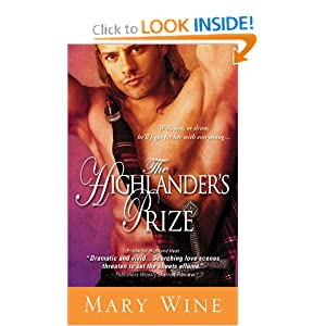 The Highlander's Prize Mary Wine