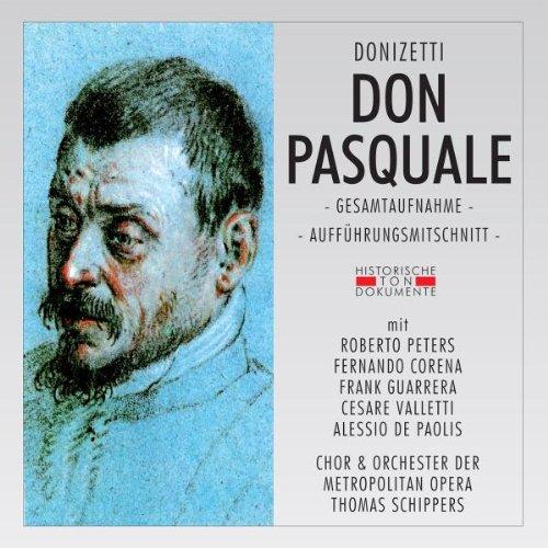 Don Pasquale - Donizetti - CD