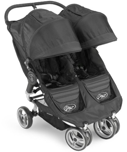 Baby Jogger 2011 City Mini Double Stroller, Black/Black