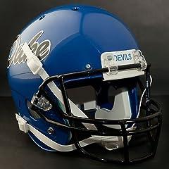 DUKE BLUE DEVILS 1994-2003 Schutt AiR XP Authentic GAMEDAY Football Helmet by ON-FIELD