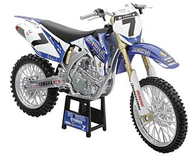 New Ray James Stewart YZF450 Motorcycle Model 1:12 Scale