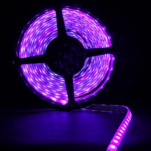 Supernight (Tm) 5M Purple Waterproof Led Light Strip 300Led/Reel Xmas Diy Decorative Ribbon Car Decorative Led Lighting(Power Supply Not Includes) front-631982