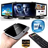 99 Digitals CS918 Quad Core Android 4.2 TV Box Player HDMI 1.8GHz WiFi 1080P 2GB 8GB