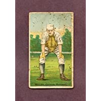 1887 N284 Buchner Gold Coin Doggie Miller Pittsburgh VG 209527 Kit Young Cards