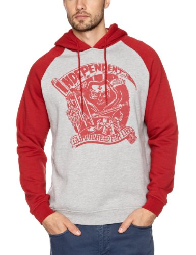 Independent Reaping Hood Men's Sweatshirt Cardinal Red Small