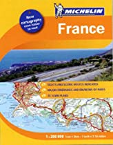 Michelin Atlas: France (Michelin France Tourist &amp; Motoring Atlas (spiral))