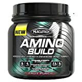 Muscletech Amino Build, Fruit Punch,  30 serving, Branched Chain Amino Acid (BCAA) Supplement with Betaine 0.58... by MuscleTech